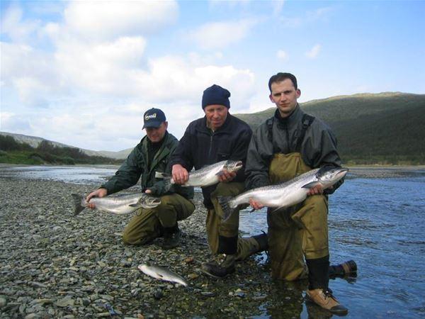 River fishing / Salmon fishing - Nordic Safari