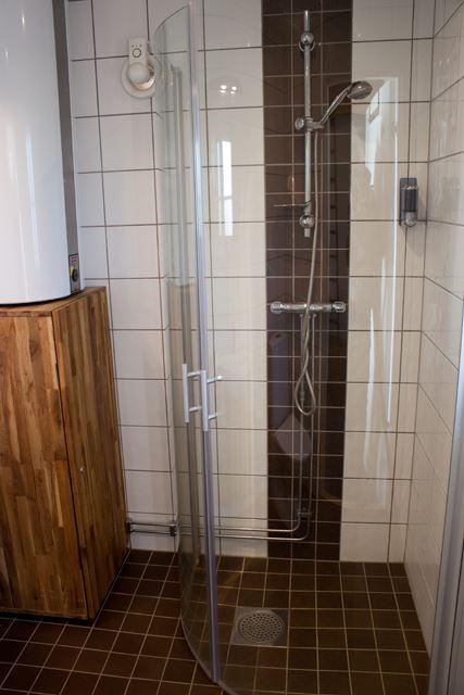 Lodgeshus Seaside (4+1 bäddar, 38 kvm, WC/dusch)
