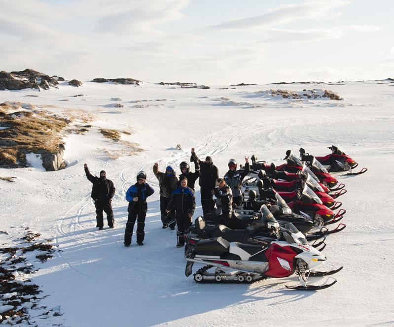Snowmobilesafari Nordkyn Peninsula (3 days) - Nordic Safari