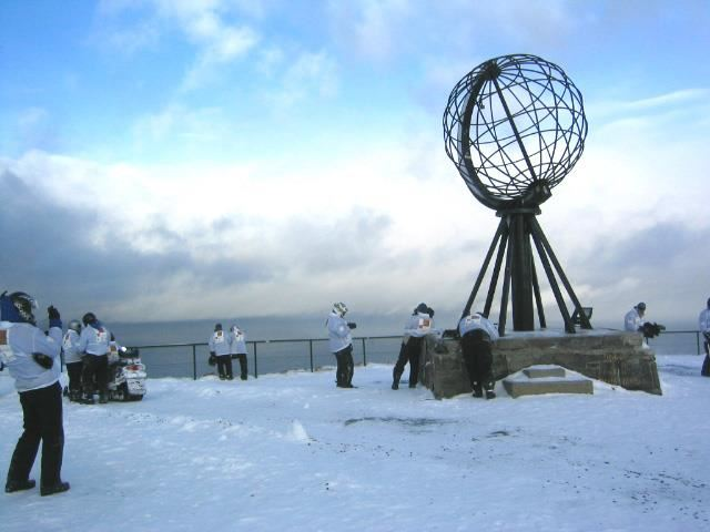 Snowmobile safari to North cape (2 days) - Nordic Safari
