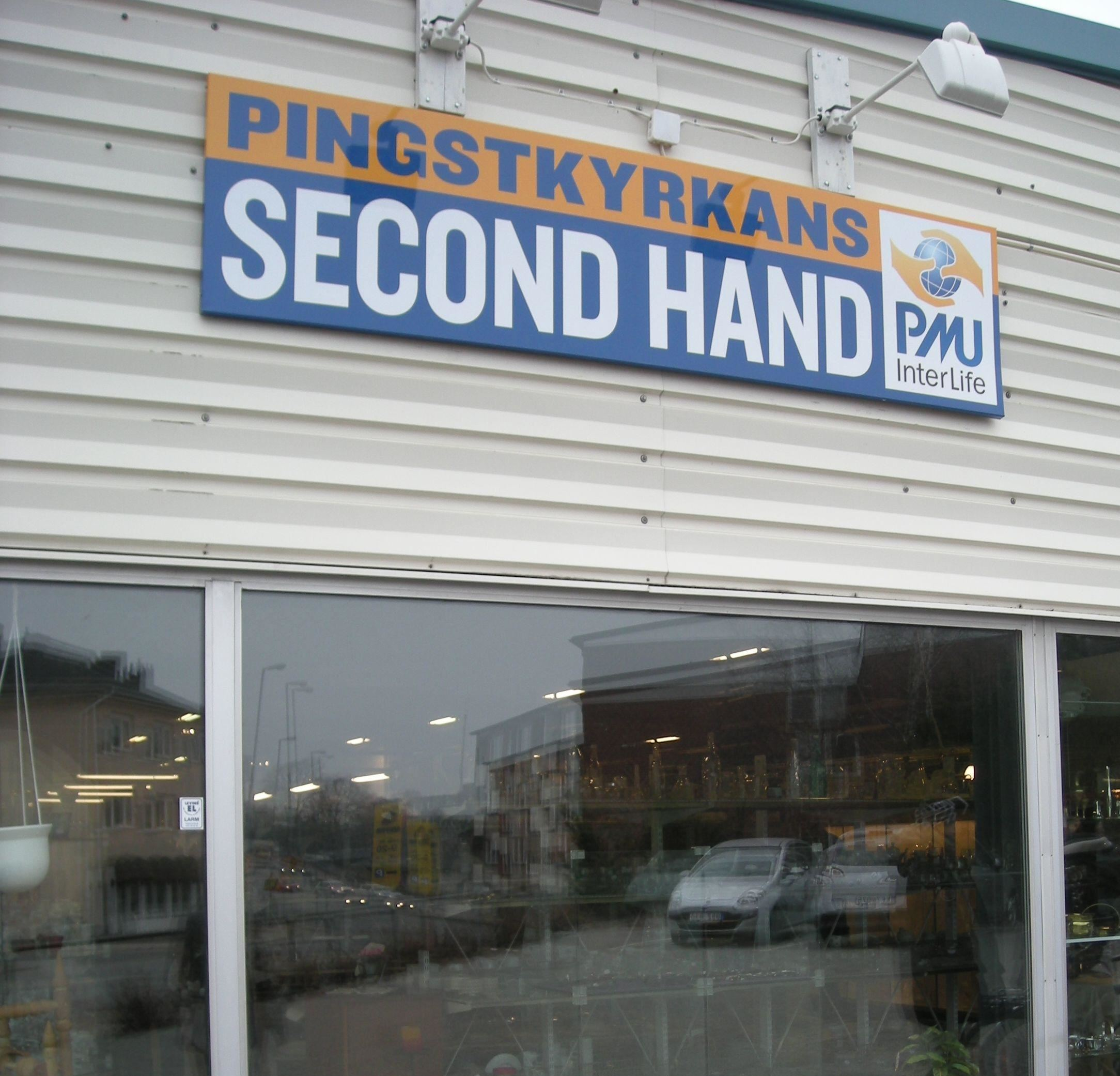 Pingstkyrkans secondhand