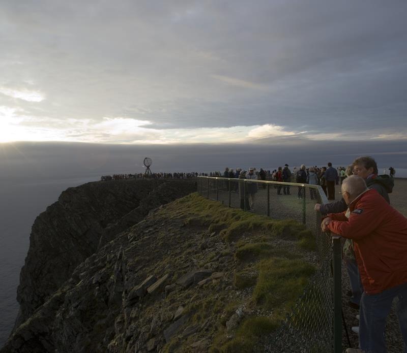 © Johan Wildhagen/Innovasjon Norge, North Cape cliff, North Cape