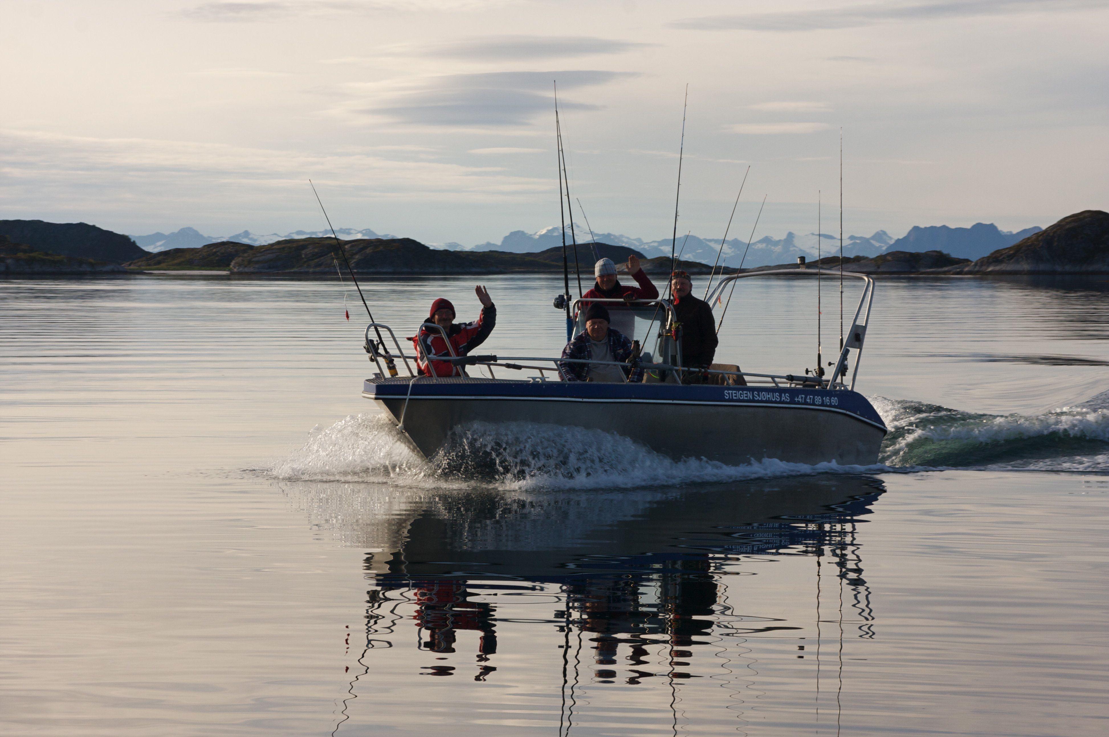 Paul Fortun, Fiske/Fishing at Steigen Sjøhus