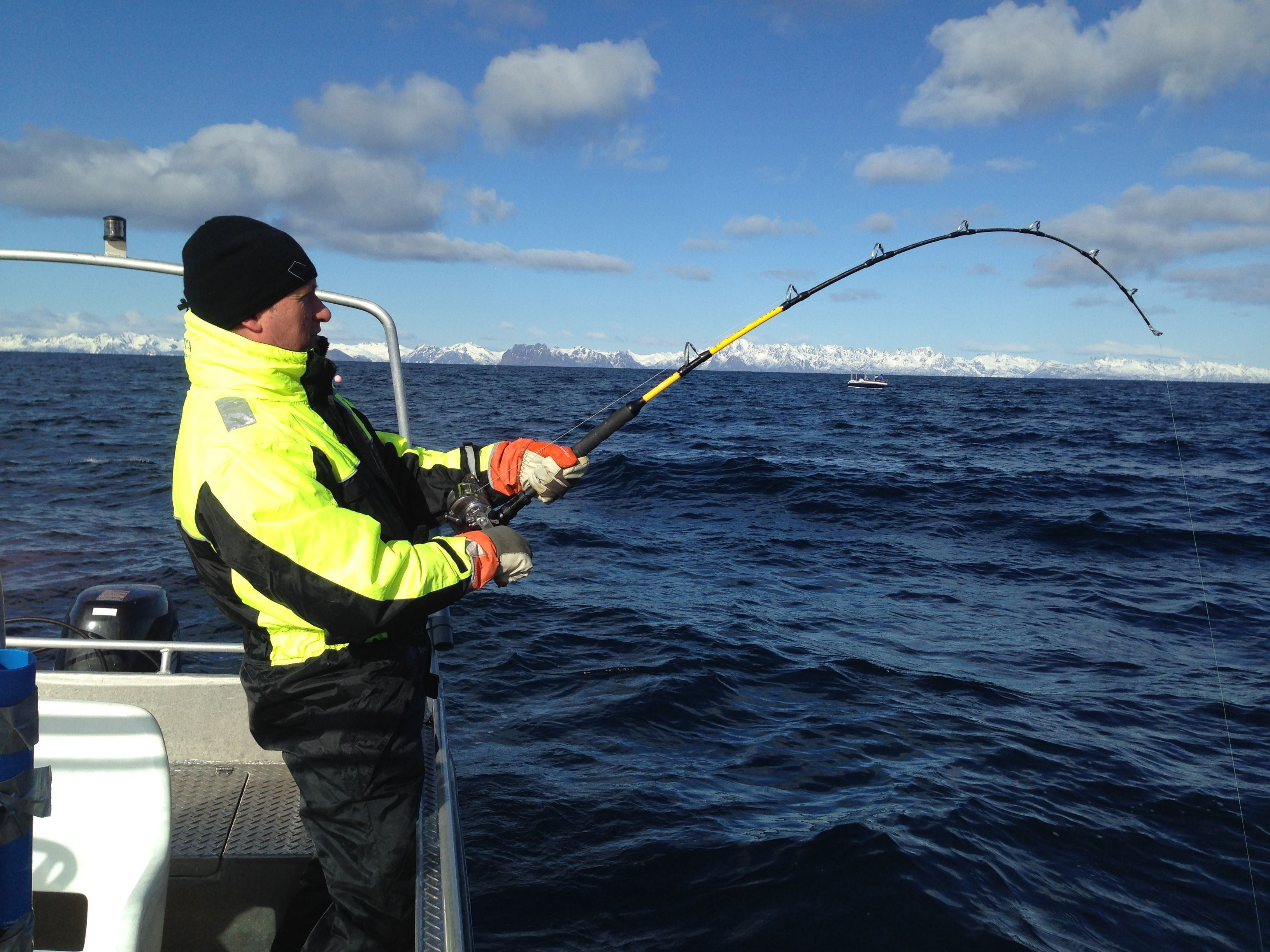Paul Fortun, Fishing from Steigen Sjøhus