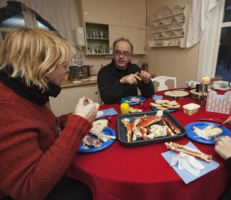 © Helge Stærk, Kirkenes Snowhotel King crab safari and lunsj in fishermans house