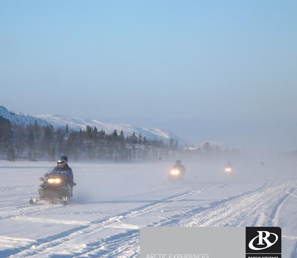 © Geir Moen, Kirkenes Snowhotel Snowmobilesafari
