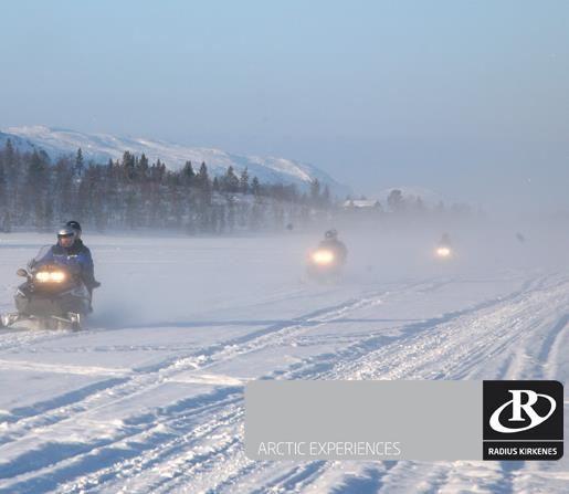 © Geir Moen, Kirkenes Snowhotel Snowmobilesafari 4 hours