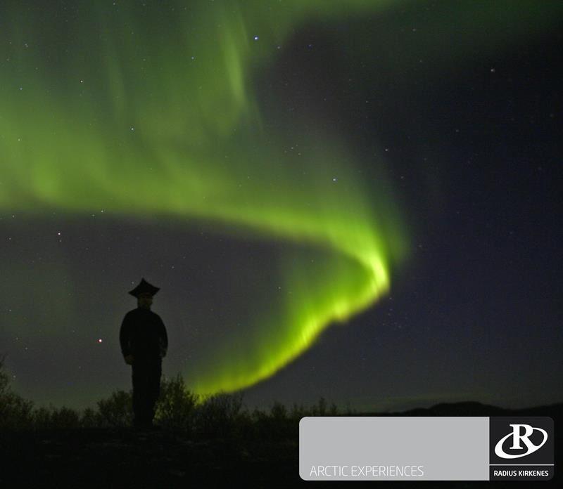© Helge Stærk, Kirkenes Snowhotel Snøskutertur Jakten på Nordlyset