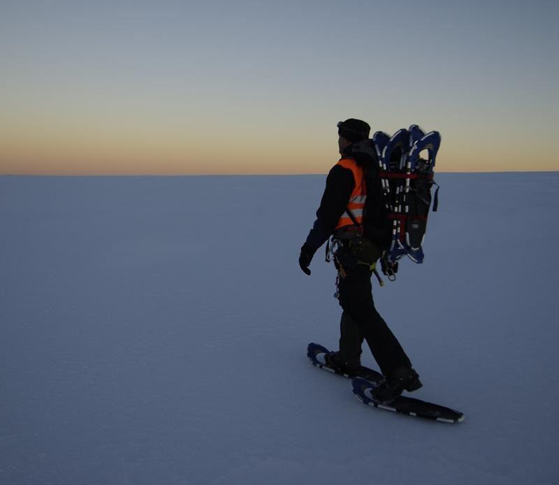Kirkenes Snowhotel Snowshoe walking 2 hours