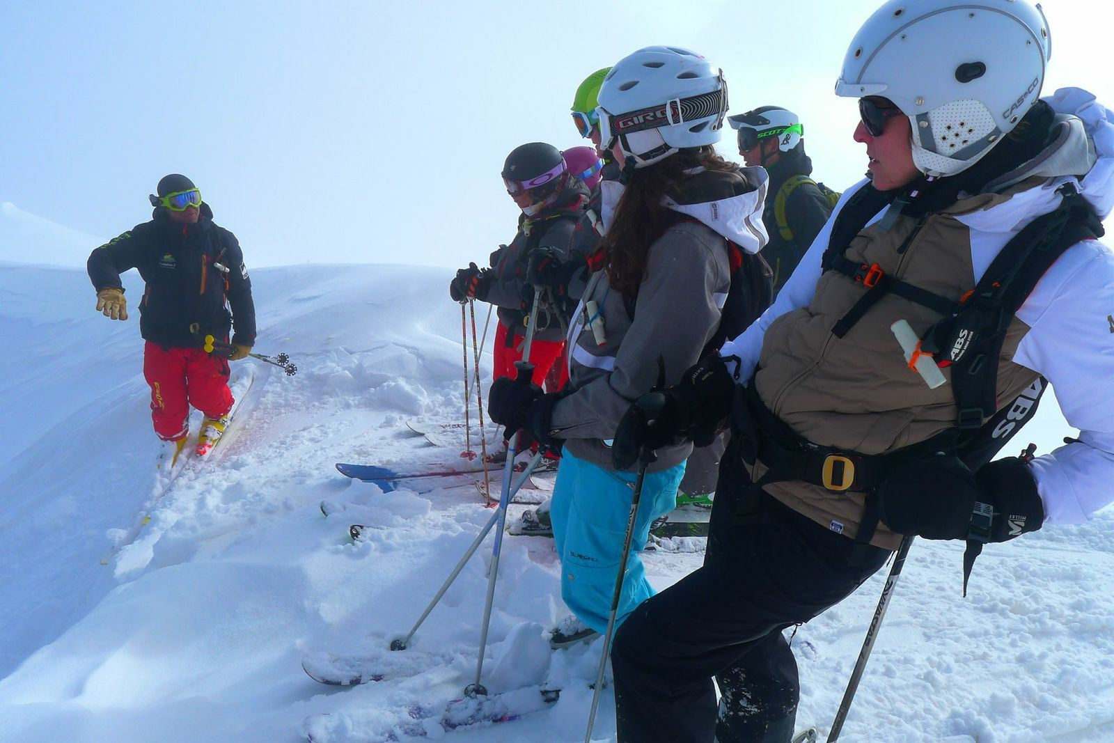 3/ Intensive ski session full day for adults from 18 years old without lunch 5 days - ski school Evolution 2