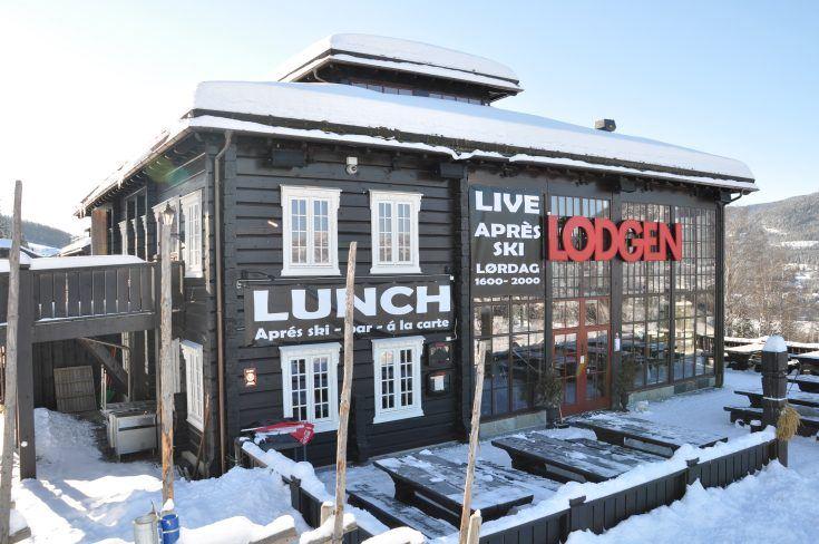 Lunsj på Hafjell Lodge