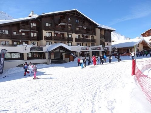 2 Rooms 6 Pers ski-in ski-out / OREE DES PISTES 8