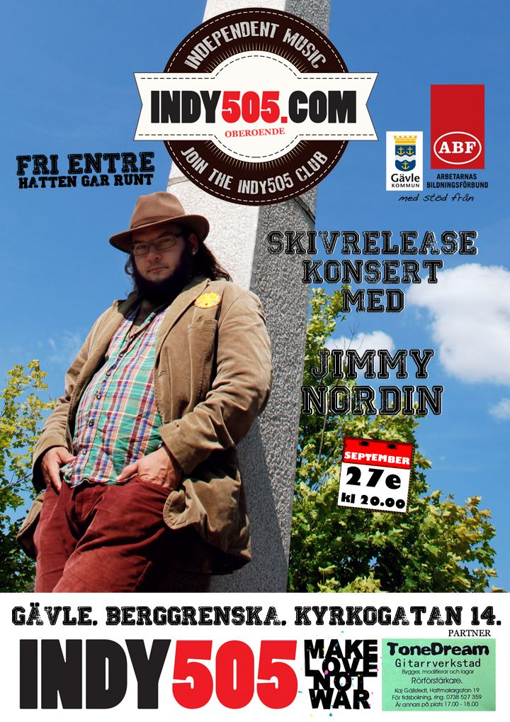 Jimmy Nordin Live på Berggrenska Gården