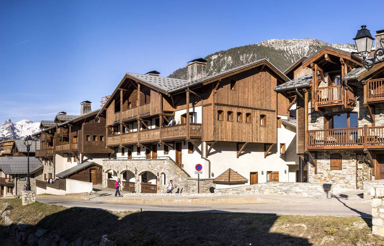 LES CHALETS DE LA MOURIA: 2-room apartment with cabin for 4 people