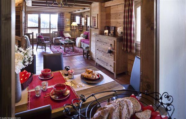 5 rooms sauna 8 people / LES CHALETS DE LA MOURIA