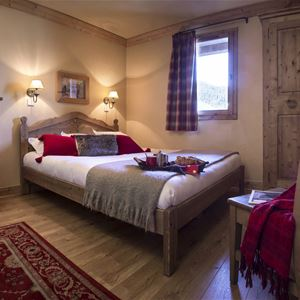 3 rooms cabin 6 people / LES CHALETS DE LA MOURIA