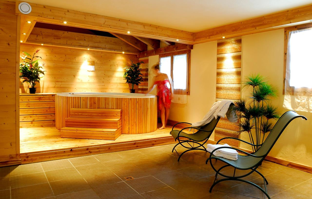 5 rooms sauna 8 people / LES CHALETS DE LA MOURIA