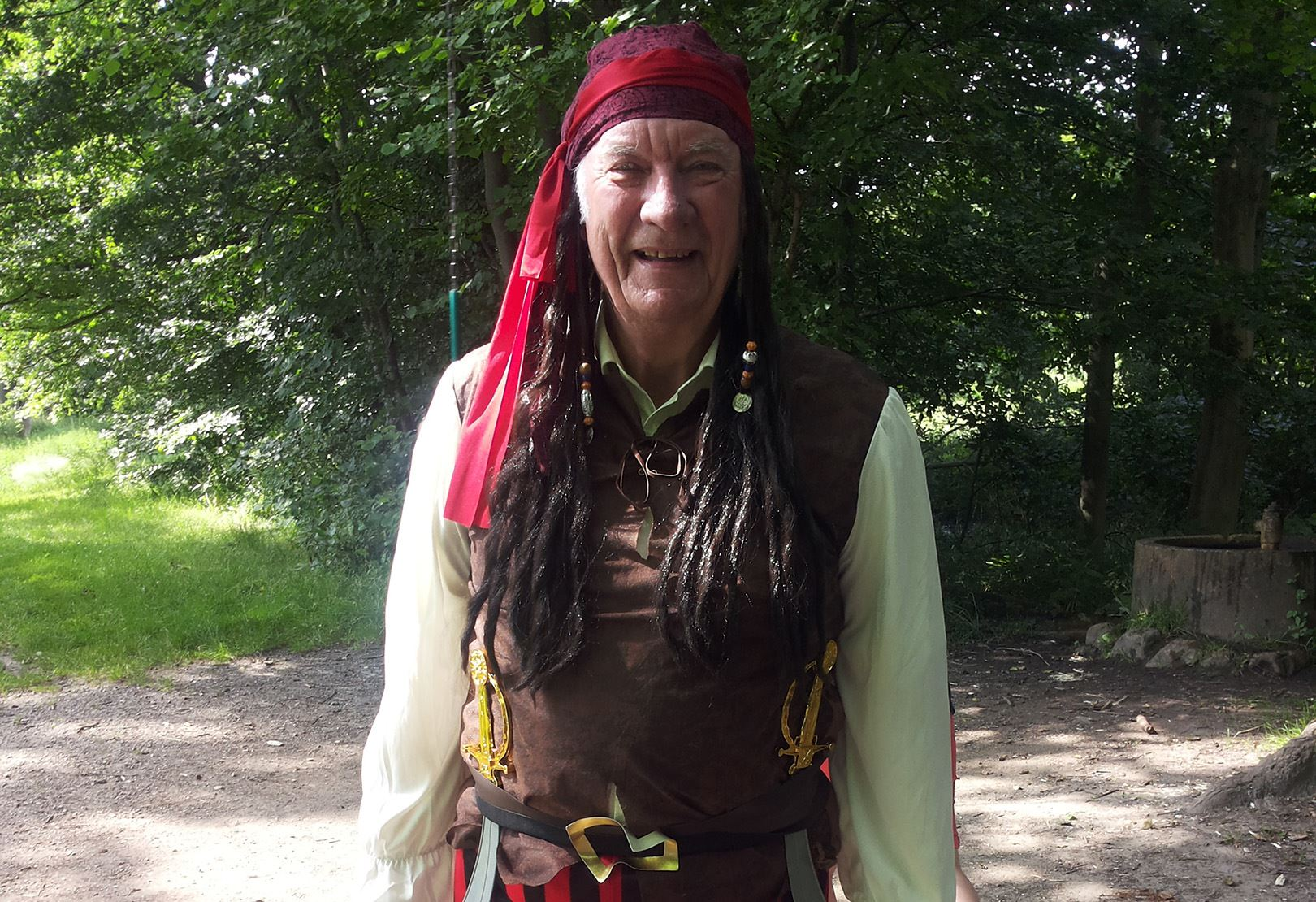 Auf Schatzjagd mit dem Piraten Alf