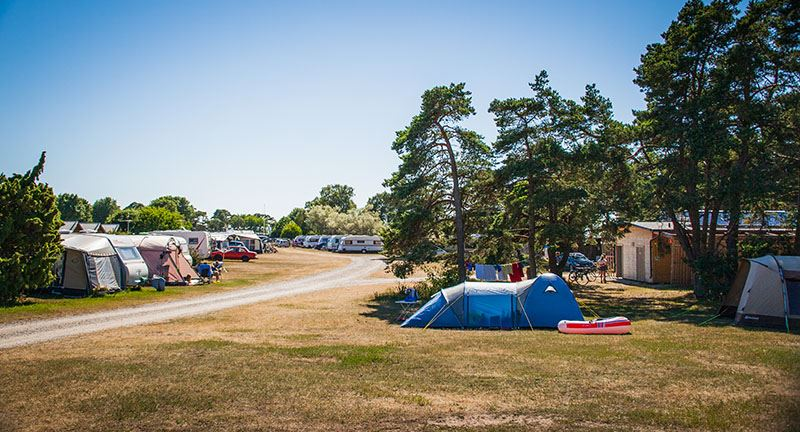 Tofta Camping - Camping pitches