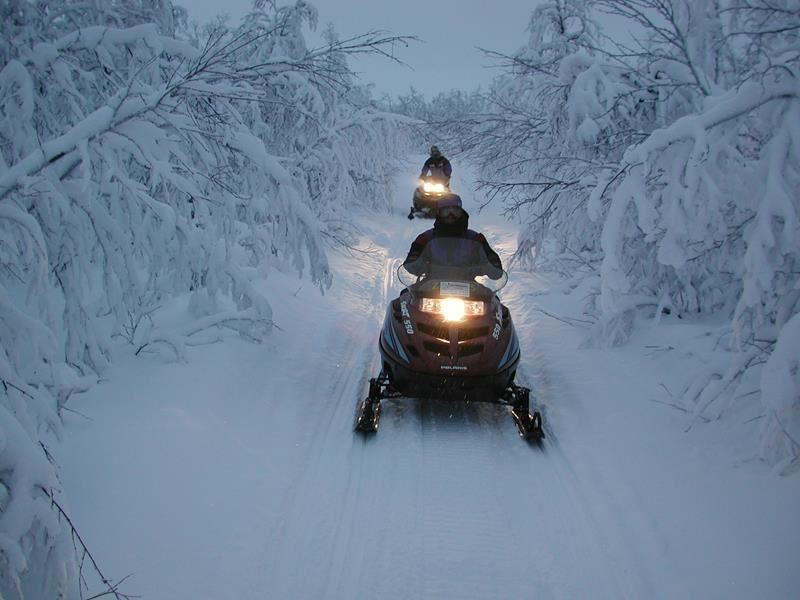 © Sorrisniva AS, Evening safari on snowmobile/hunting for the Northern Lights