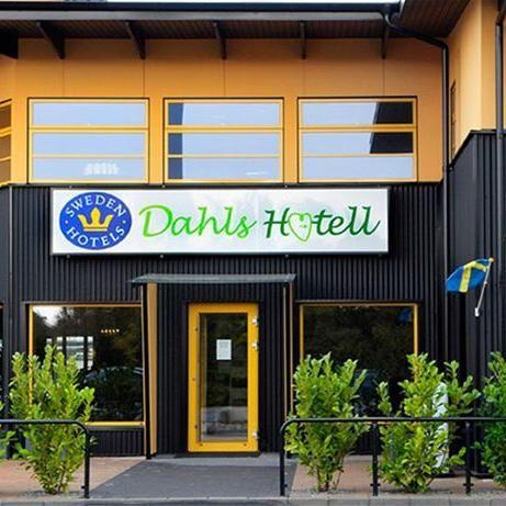 © Dahls Hotell, Hotellentré