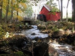 Per Olof Peterson, Watermill in North Gullabo