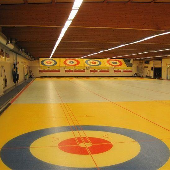 Curling-Prova på