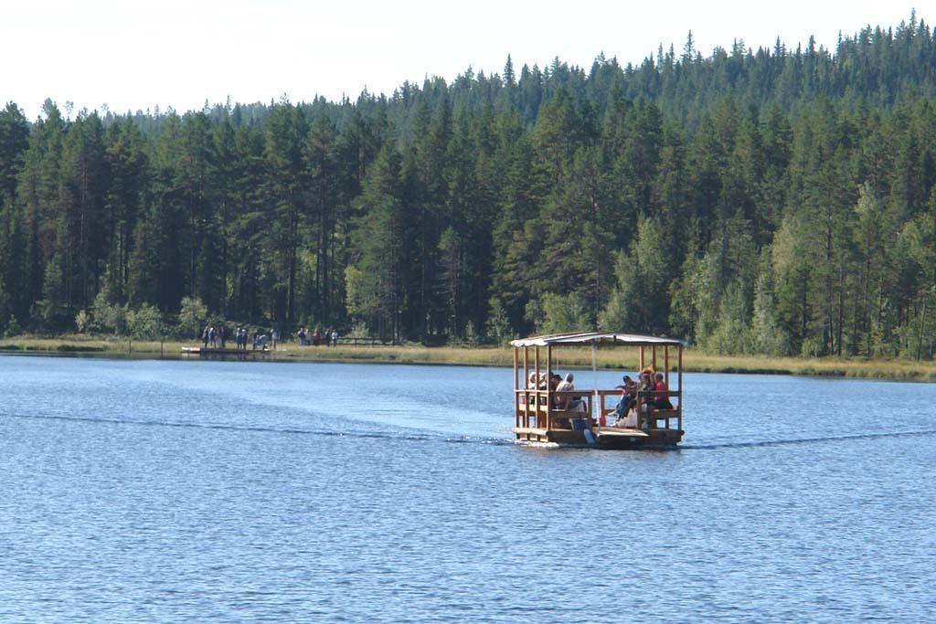 Cabins in Stor-Stensjöbodarna