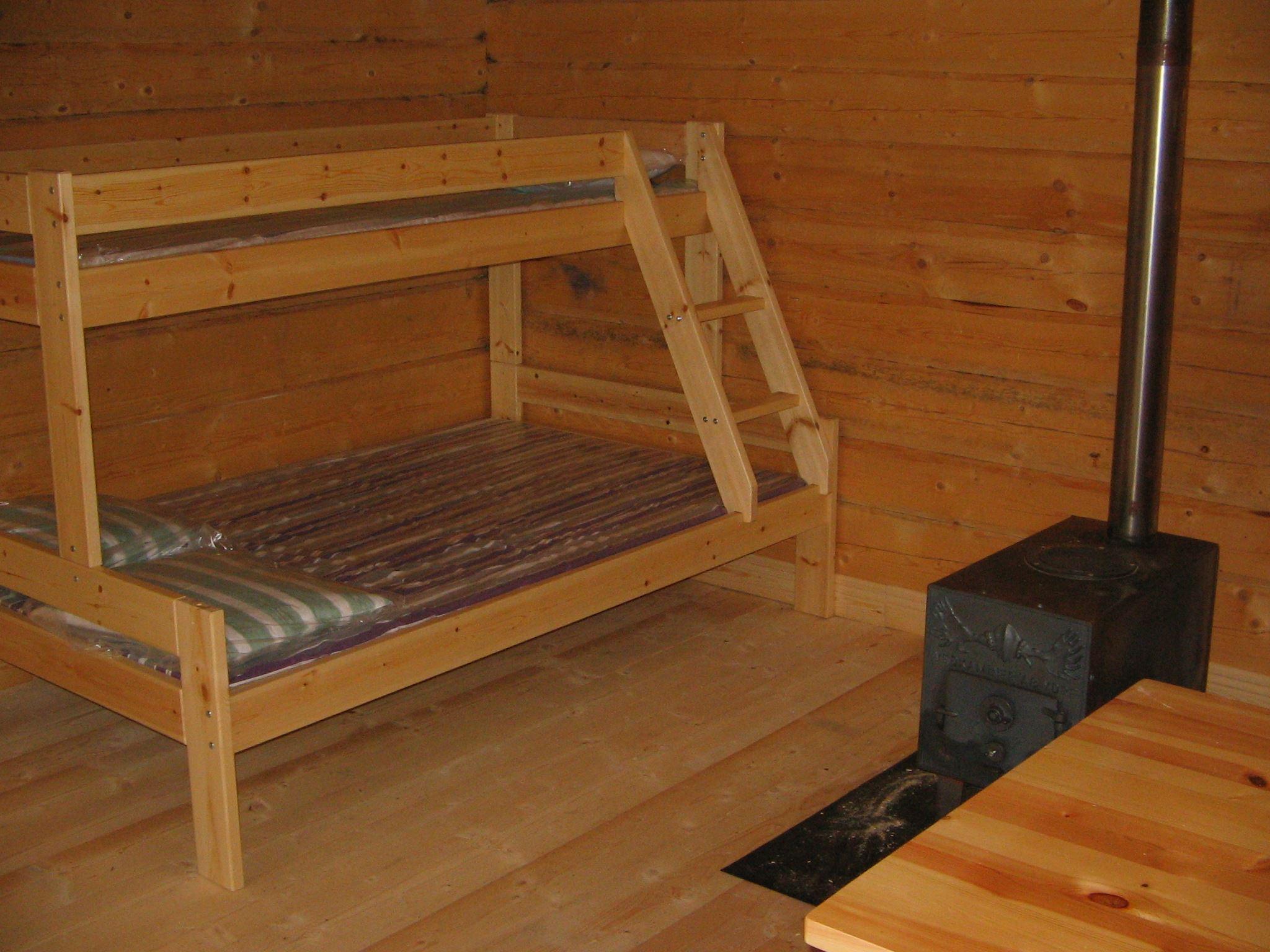 Hütten in Stor-Stensjöbodarna