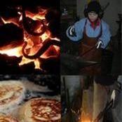 Be a blacksmith for a couple of hours - Carinas Smedja
