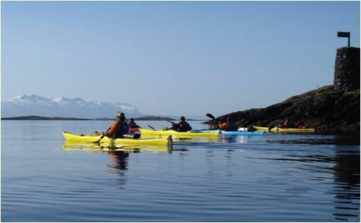 Introductory course in sea kayaking (8 hours)