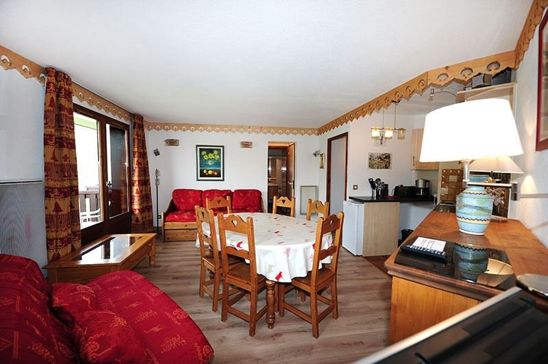 2 Rooms + cabin 8 Pers ski-in ski-out / BALCONS D'OLYMPIE 319