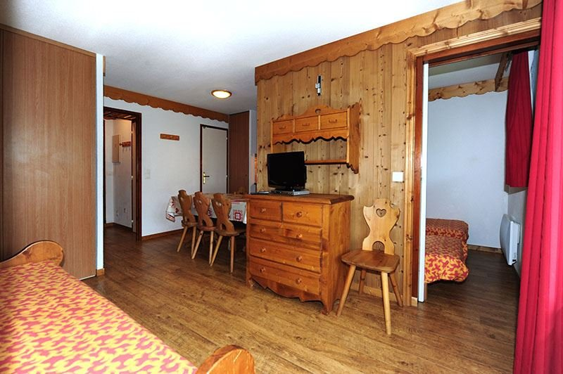 2 Rooms + cabin 6 Pers ski-in ski-out / BALCONS D'OLYMPIE 428