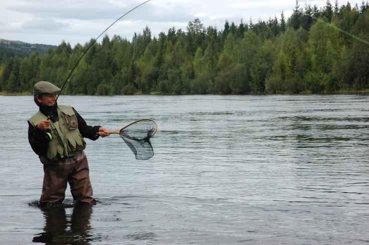 Guided fishing with Turgleder
