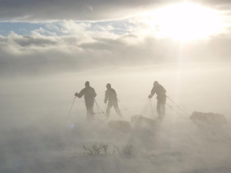 Finnmark Platau Skiing Expedition with Turgleder