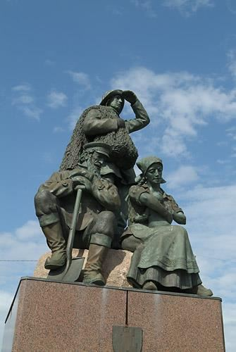 Immigration monument