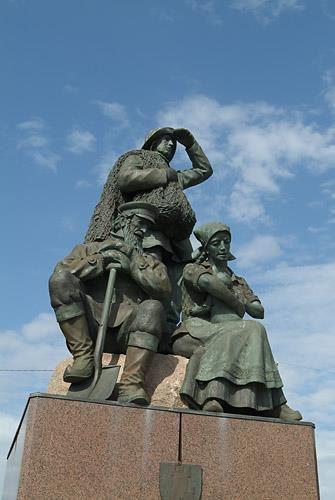 Immigration monument