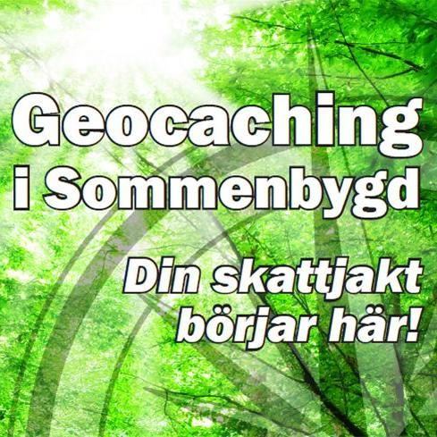 Geocoaching i Sommenbygd.