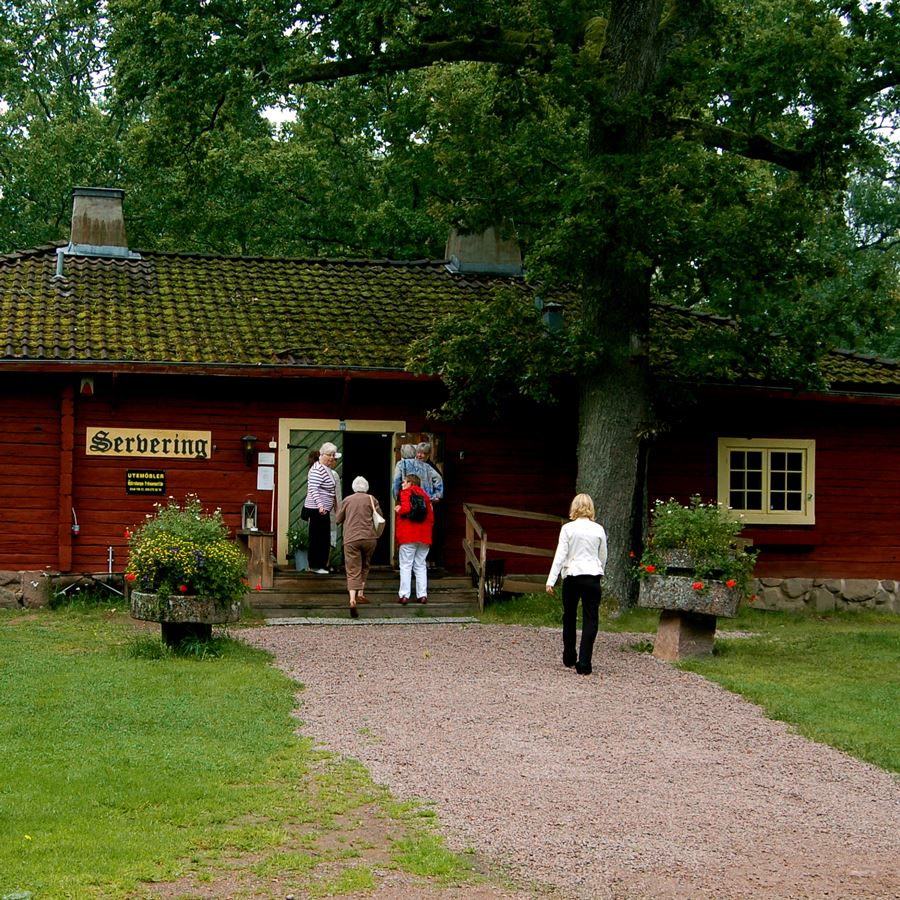 Ekbergsparkens naturreservat i Tranås.