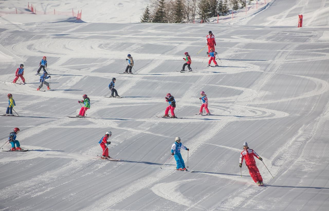 ESF 1550: Group ski lessons - Children between 3 and 12 years old