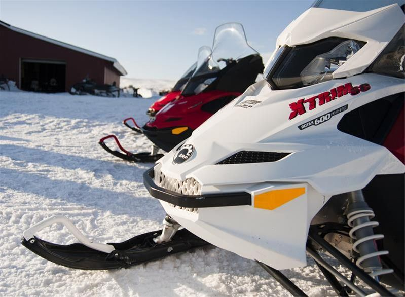 Snowmobile safari Finland - Norway (3 days) - Nordic Safari