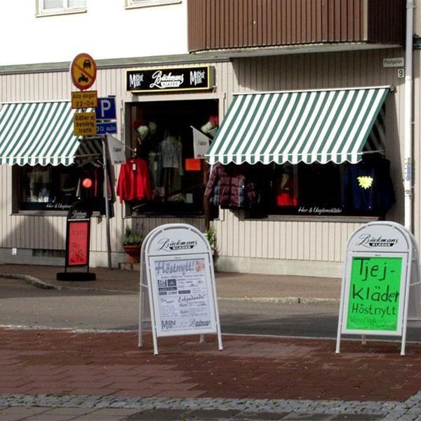 © www.backmansklader.se, Bäckmans Kläder