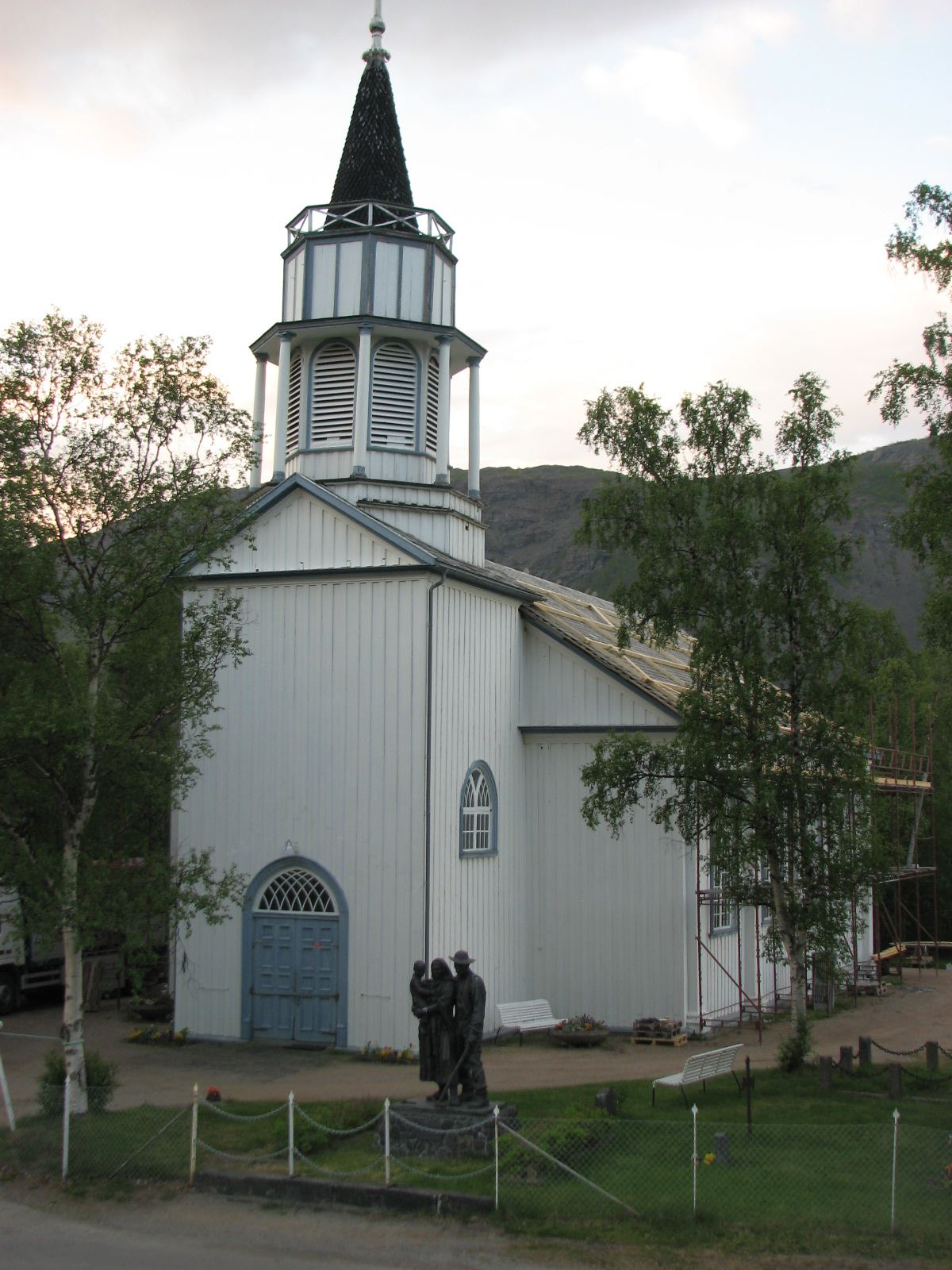 Rünno,  © Rünno, Kåfjord Church