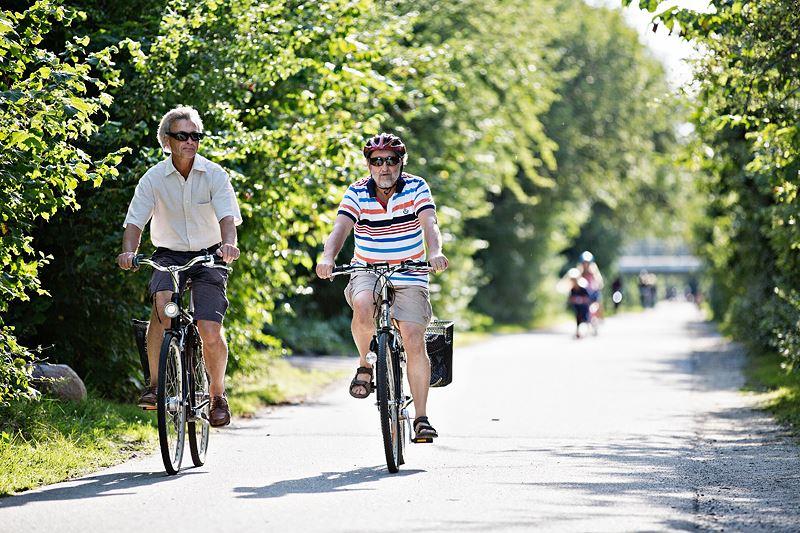 © Leif Johansson, Xrayfoto, I kontrasternas landskap - Med cykeln till vikingatiden!