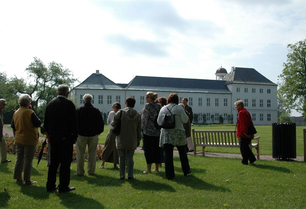 Gråsten Palace Gardens and Palace Church