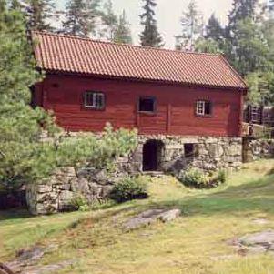 Råås Kvarn i Ramfall