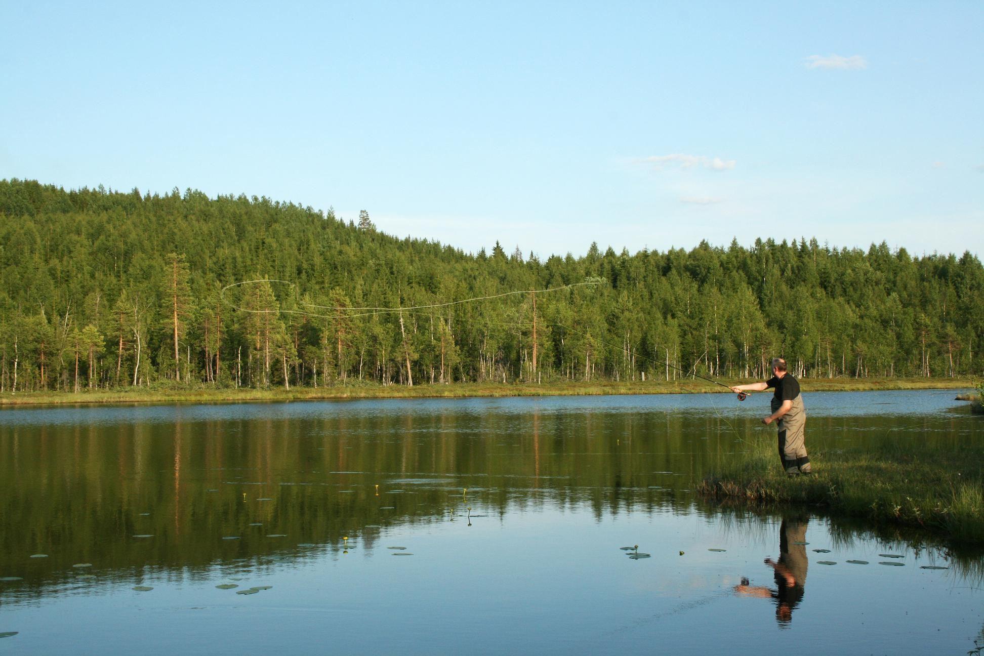 Angeln in Sundsvall