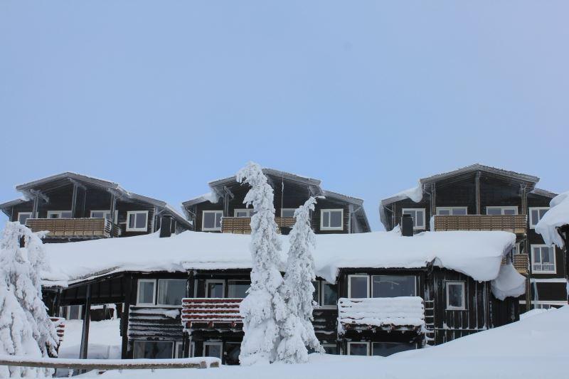 11 sengs leilighetene har panoramautsikt