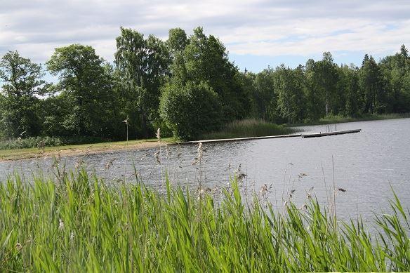 Adela Udde, Handskerydssjön lake