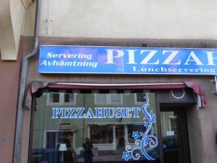 Pizzahuset i Hudik